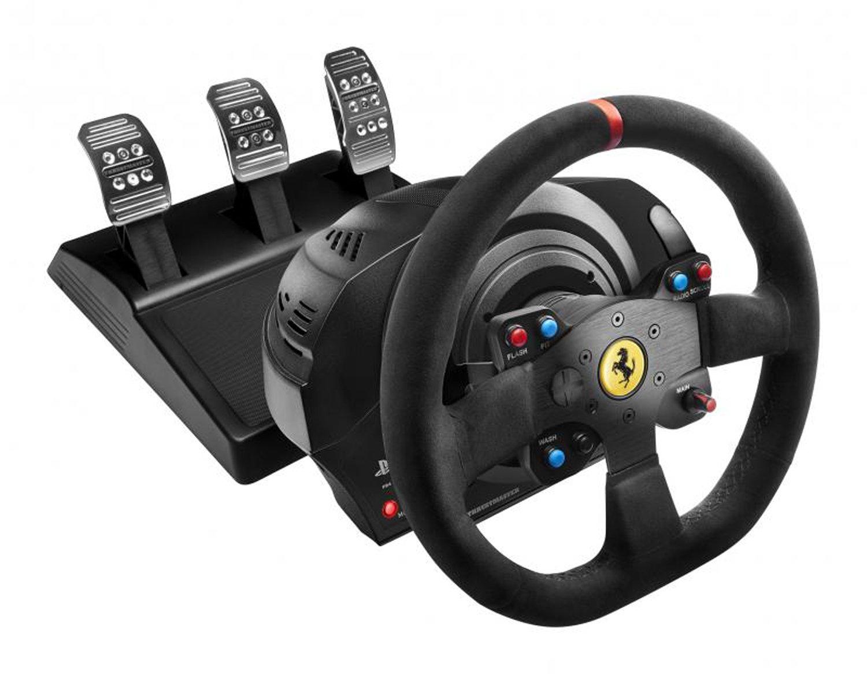 最安値挑戦! Thrustmaster T300 Ferrari Integral Racing Wheel Racing Alcantara Edition Alcantara Ferrari レーシング ホイール [並行輸入品] B01KJV6FP8, axiologie:3130b408 --- martinemoeykens.com