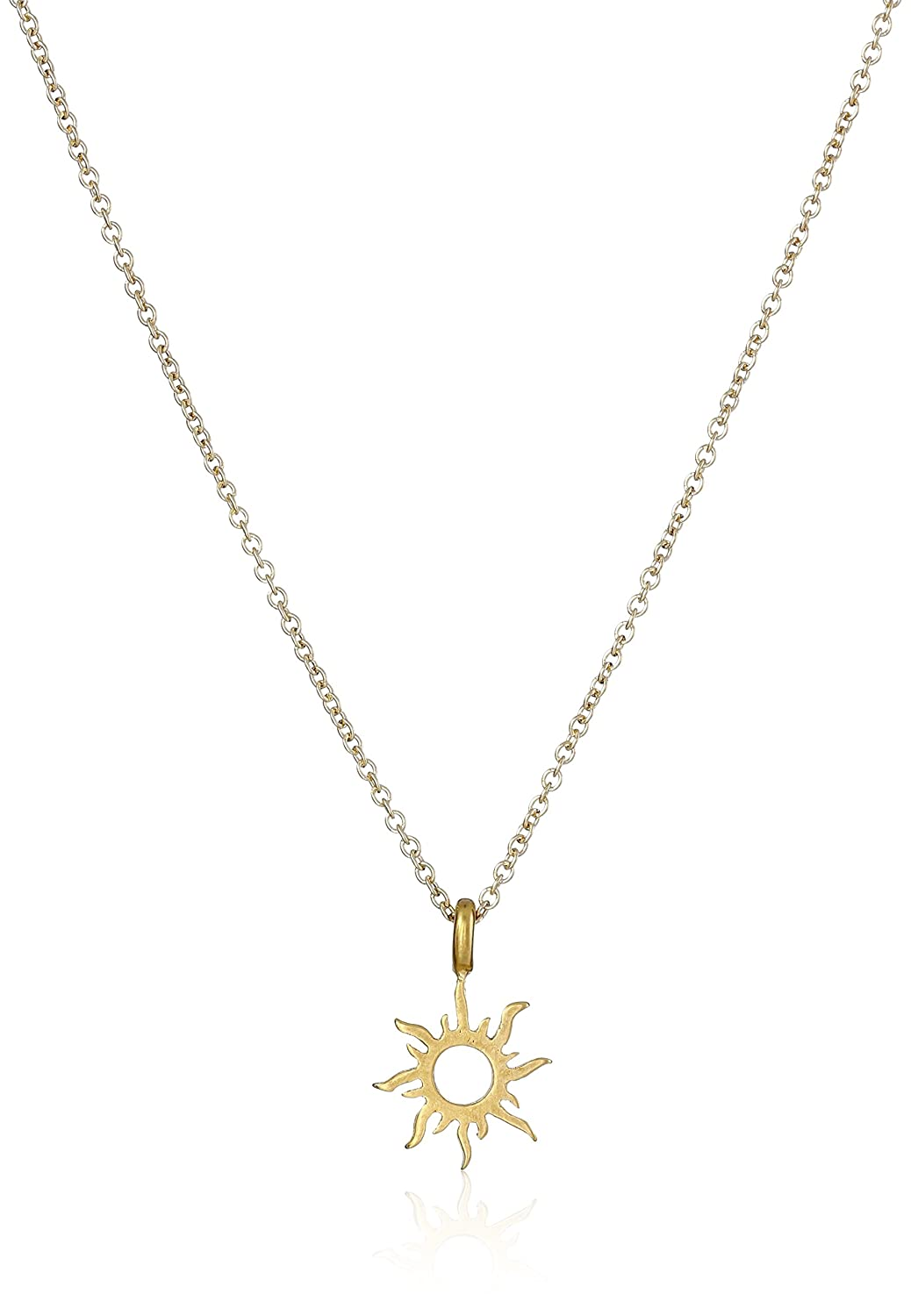 of beachcomber drop product golden pendant jewellery sun img