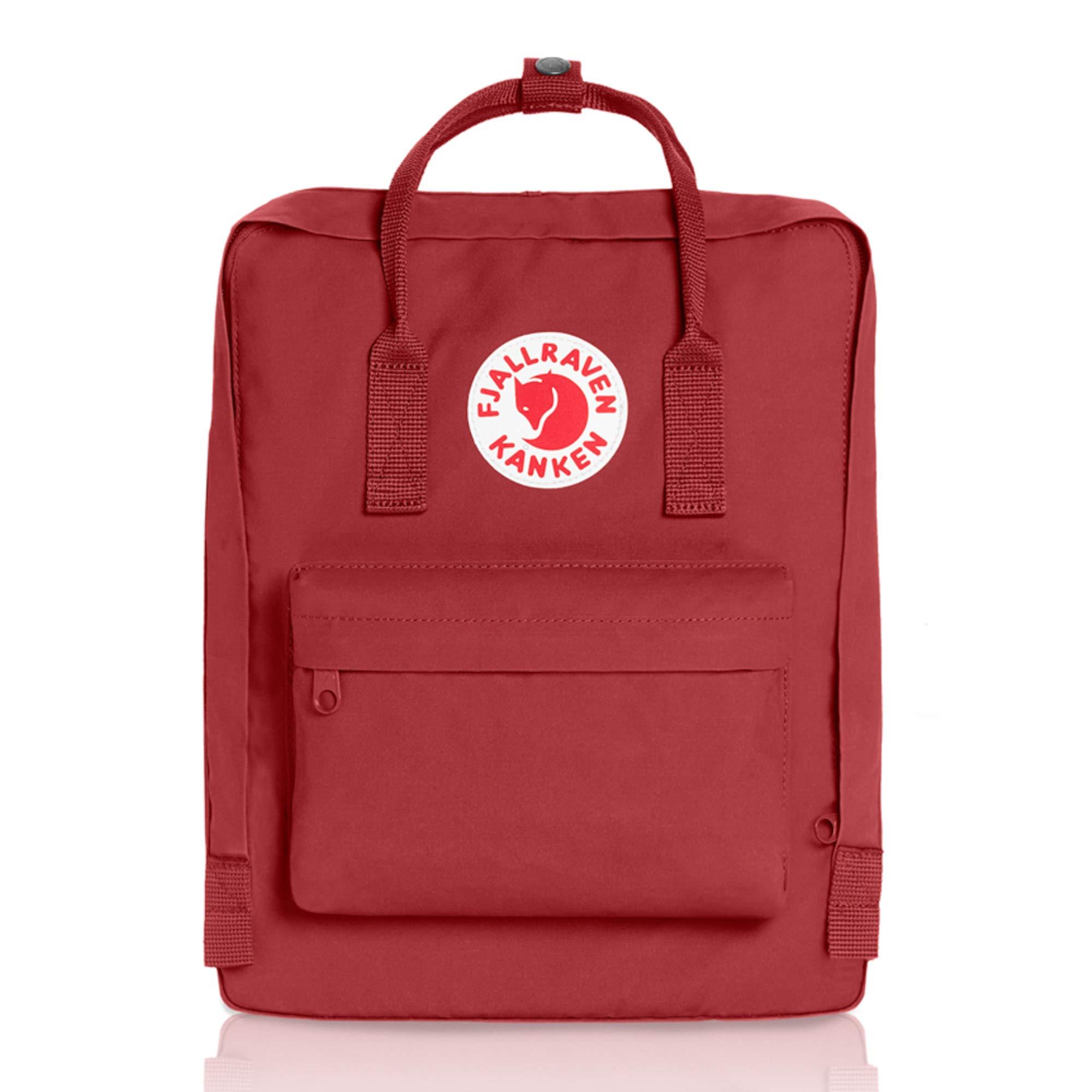 Fjallraven - Kanken Classic Backpack for Everyday, Deep Red