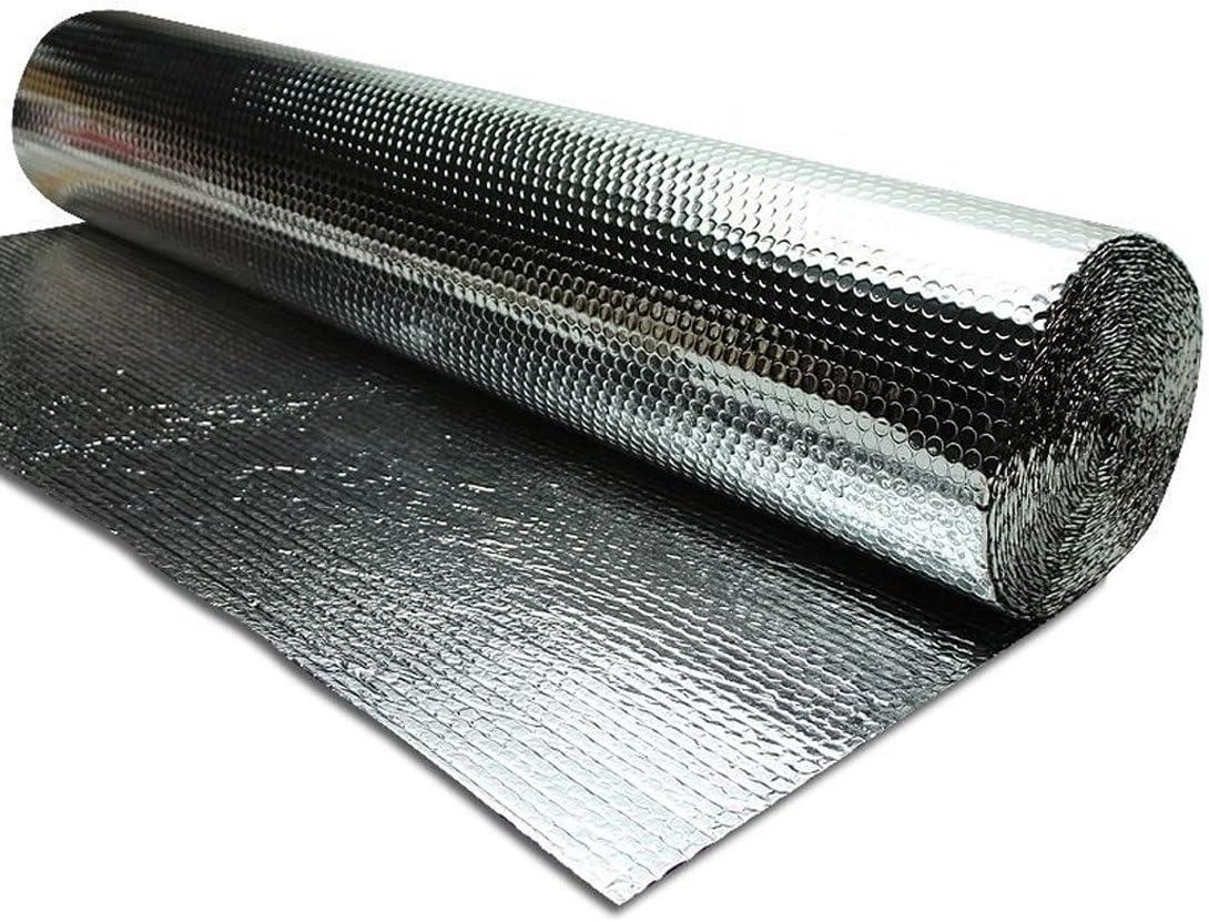 AU IR Infrared Blocker Thermal Radiant Barrier Heat Block Shield Reflector (48 Inches x 100 Feet)