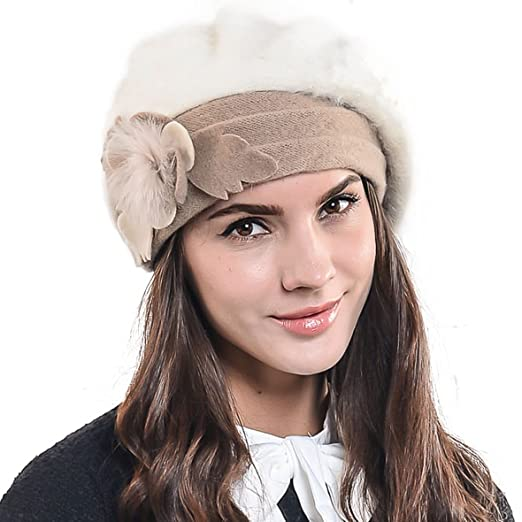 857f5e69181a0 F N STORY Lady French Beret Wool Beret Chic Beanie Winter Hat Jf-br022  (BR022