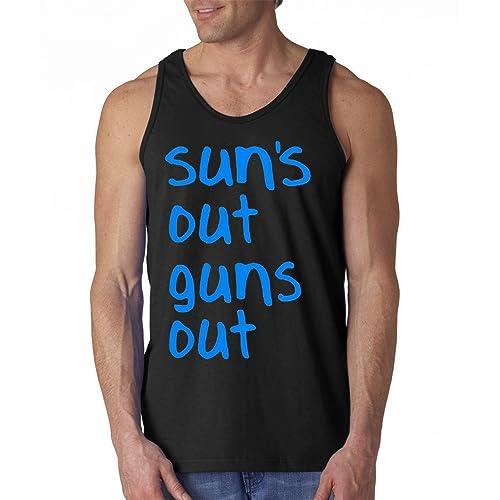 fresh tees Suns Out Guns Out Gym Tank Top 22 Jump Street