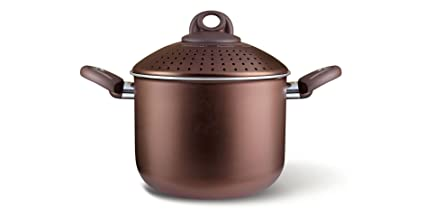 Olla para Pasta Uniqum - 20 cm. Color Choco marrón - Marca Pensofal ...
