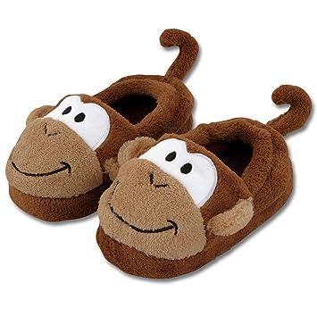 Stephen Joseph Bad Pantoffeln im Affe Design Gr. L (29 30
