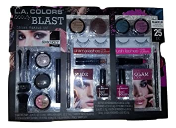 Amazon Com L A Colors Beauty Deluxe Blast Giftset Beauty