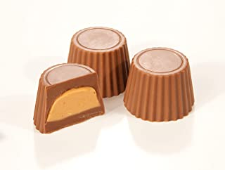 product image for Asher's Chocolates, Mini Peanut Butter Cups, Sweet and Salty Candies, Small Batches of Kosher Chocolate, Family Owned Since 1892, 14oz (Milk Chocolate, Mini Cups)