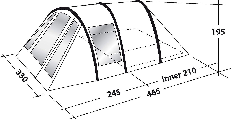 Outwell Aspen 500 Tent 2019 Zelt