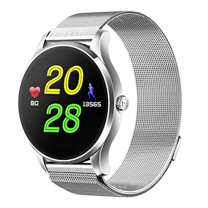Amazon.com: K88H Bluetooth Smart Watch, FIN86 Classic Solid ...