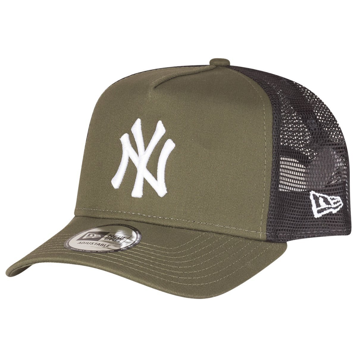 A NEW ERA Gorra Trucker League Essential York Yankees Oliva Hombre Verde (Med) Talla Única 80635928