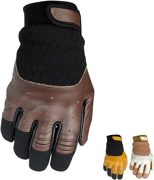 Biltwell Bantam guantes Retro de piel verano