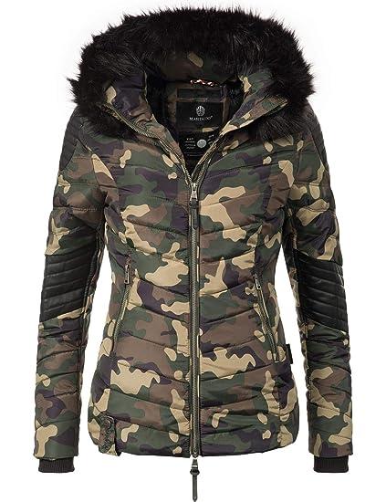 Marikoo Damen Winter Jacke Steppjacke Mamba (vegan hergestellt) 6 Farben XS XL