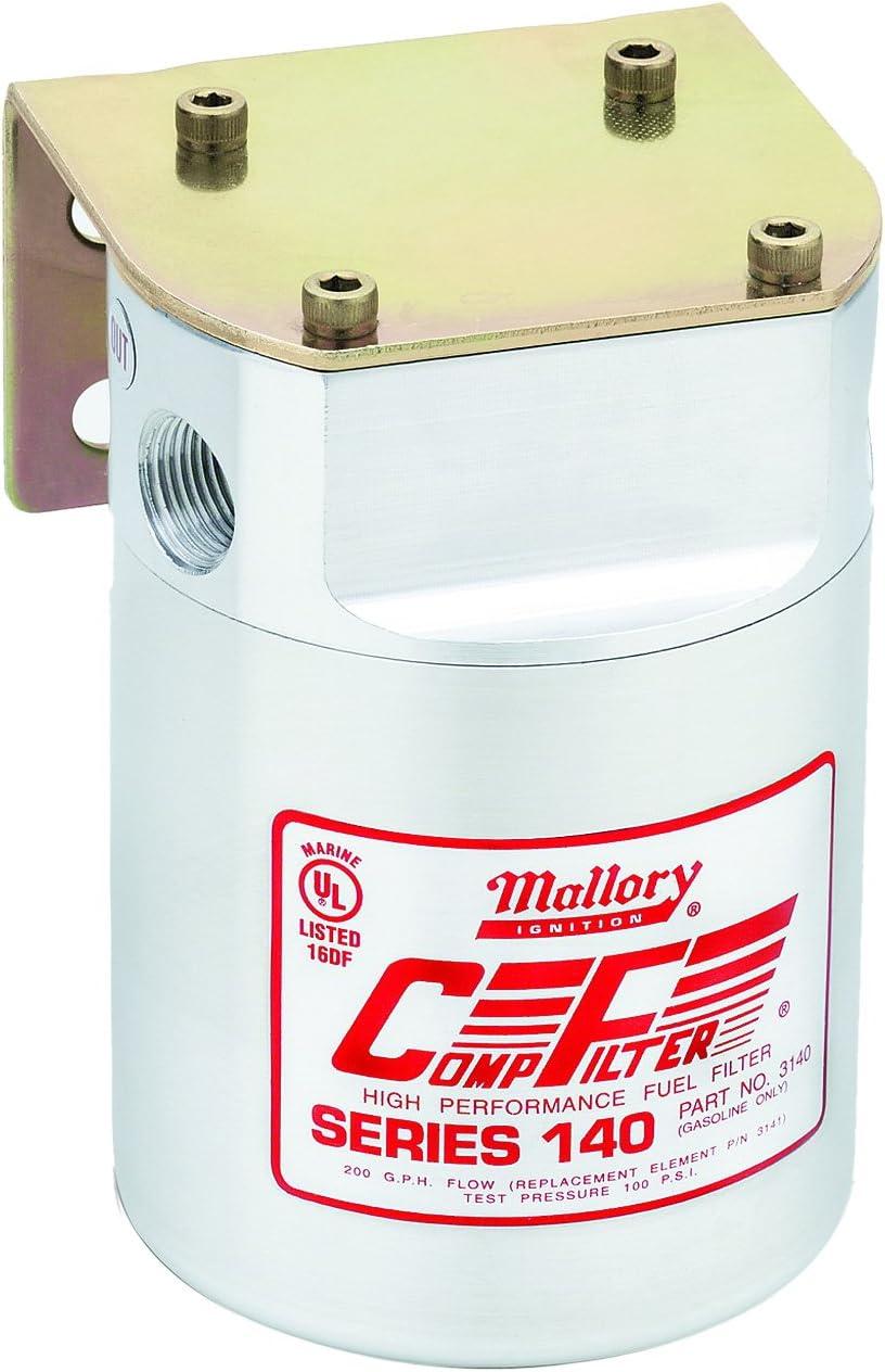 NEW Mastercraft 80937824 Mallory 9-37824 Marine Boat Inline Fuel Filter