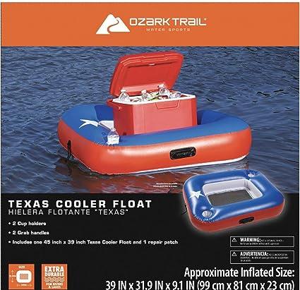 Amazon.com: Ozark Trail Texas Cooler flotador deportes de ...