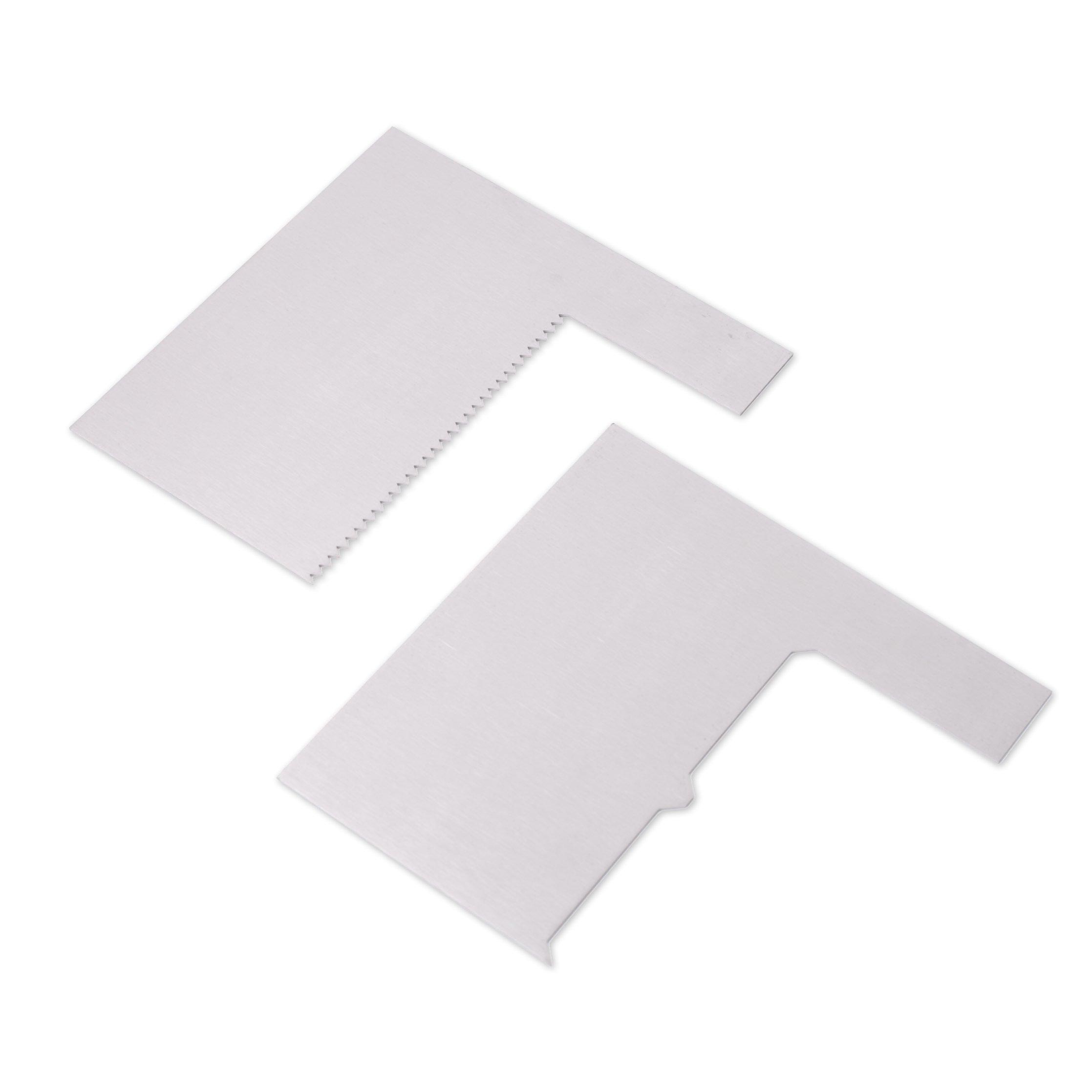 Modan Supplies Buttercream Book Set Combs Scraper Set