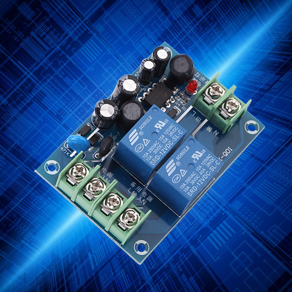 AC 85-240V 110V 220V 230V 10A Dual Power Supply Automatic Switching Control Module Backup Power Switch,AC Power Supply Switch Power Supply Controller