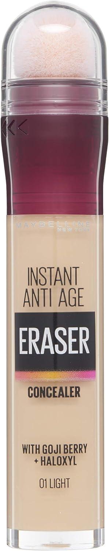 Maybelline Eraser Eye Concealer, Light 6.8 ml - corrector de ojos