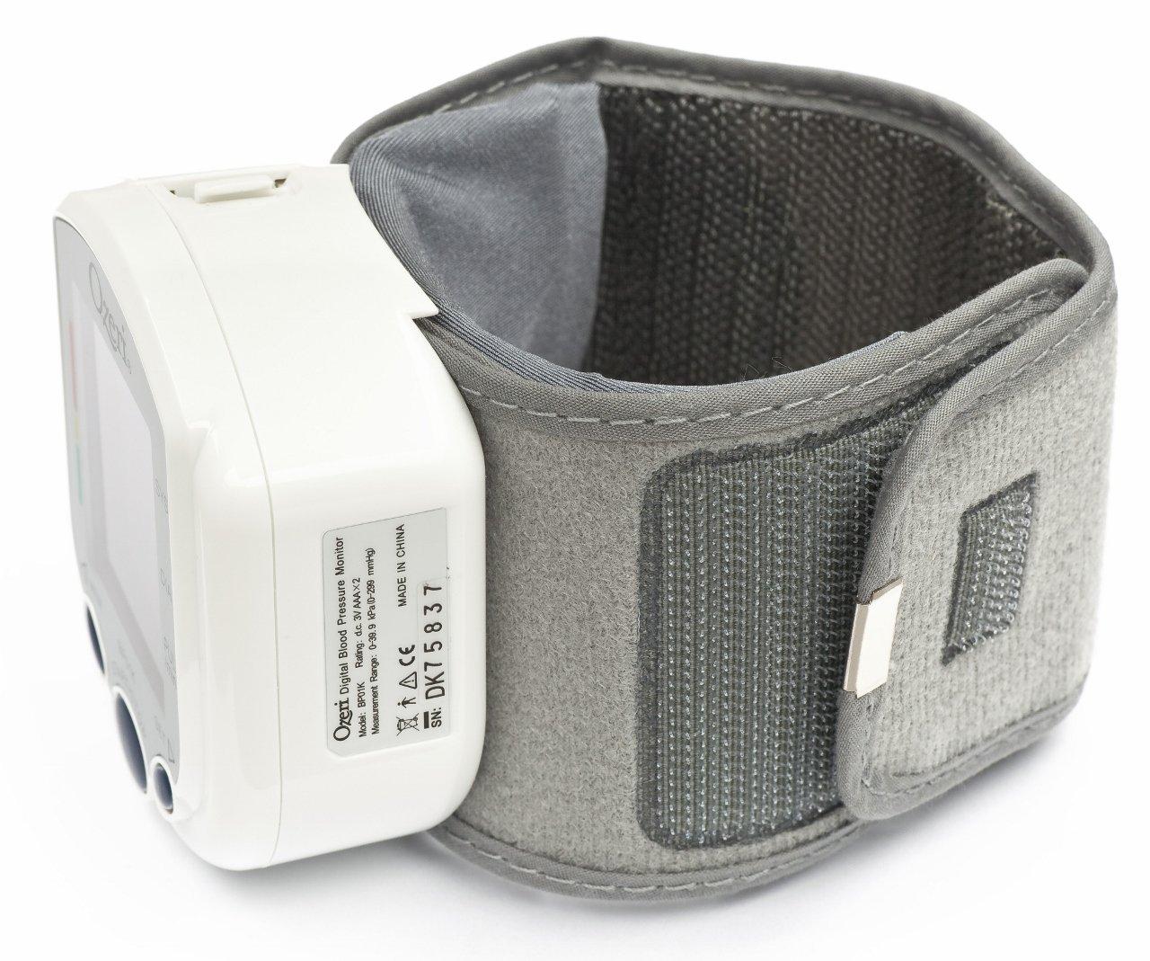 Ozeri BP01K - Tensiómetro Digital con Indicador de Corazón Saludable e Hipertensión: Amazon.es: Salud y cuidado personal