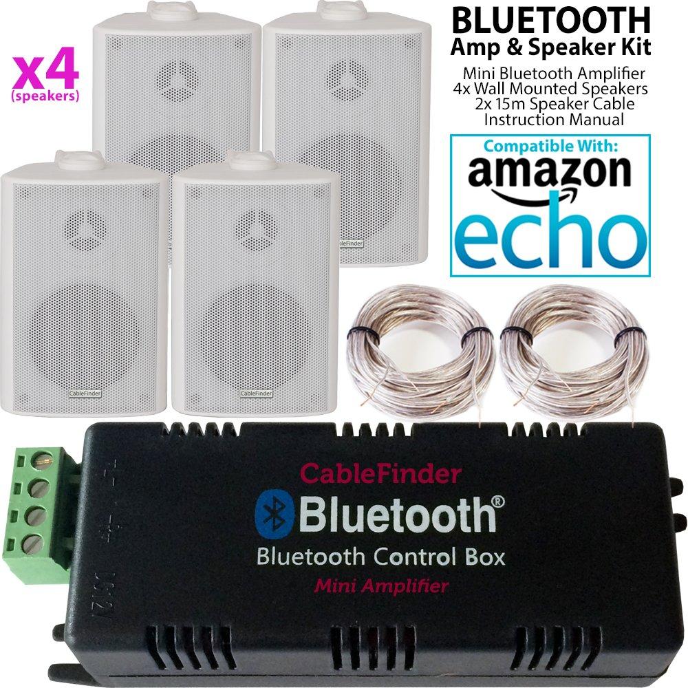 Smart Home Bluetooth Verstärker & 4 x: Amazon.de: Elektronik