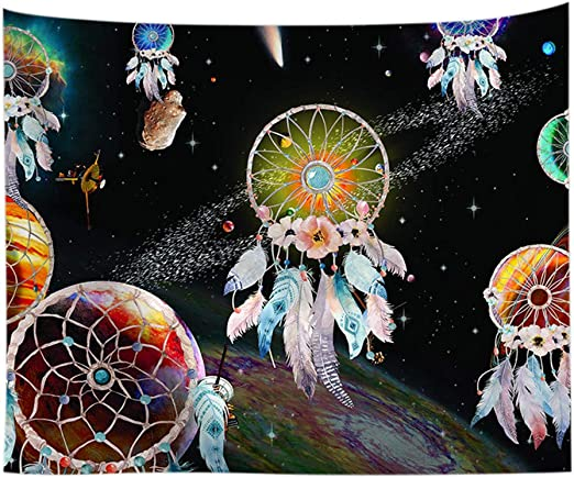 Panda astrologie Mandala Art Tapestry Wall Hanging Hippie Tie Dye Poster Throw