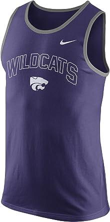 Nike Kansas State Wildcats College hombre de algodón arco Tank Top – Camiseta sin mangas, púrpura (New Orchid Purple): Amazon.es: Ropa y accesorios