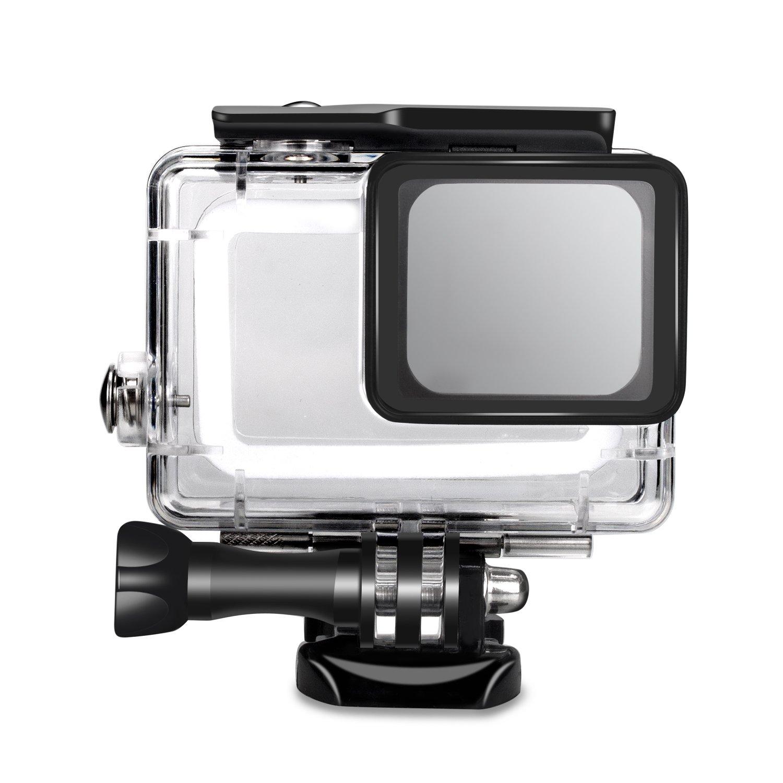 SyndeRay Waterproof Housing Case Cover for GoPro Hero(2018) 7/6/5-Underwater 45 Meters by SyndeRay