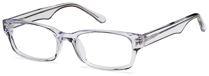 clear prescription glasses frames rxable in transparent frame