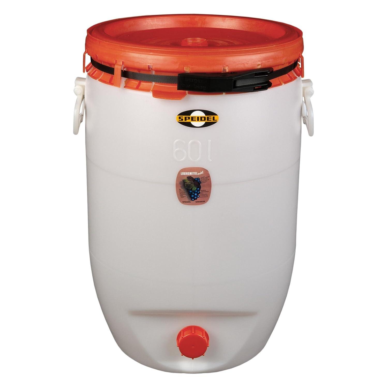 Cuve de fermentation 60 litres, avec couvercle - 'Speidel' avec couvercle - 'Speidel' 21007