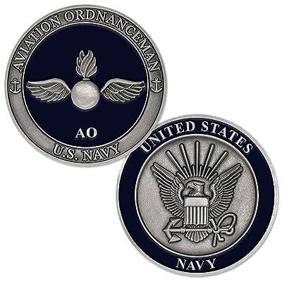 U.S. Navy Aviation Ordnanceman Challenge Coin: Toys & Games