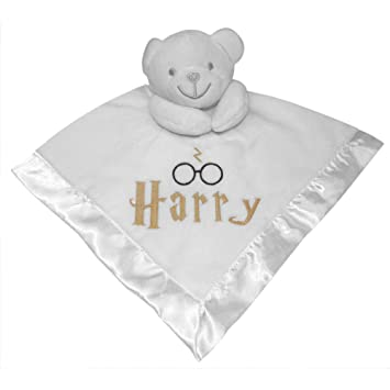 ce6439d384426 Personalised Baby Wizard Comforter Blanket with 3D Teddy Bear