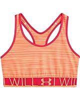 Under Armour Women's Mid Printed Sports Bra