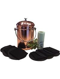kitchen compost pail bin for countertop