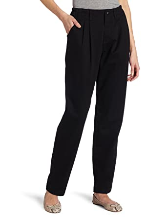 64ff540f8bcb1 Lee Women s Relaxed Fit Side Elastic Pleated Pant
