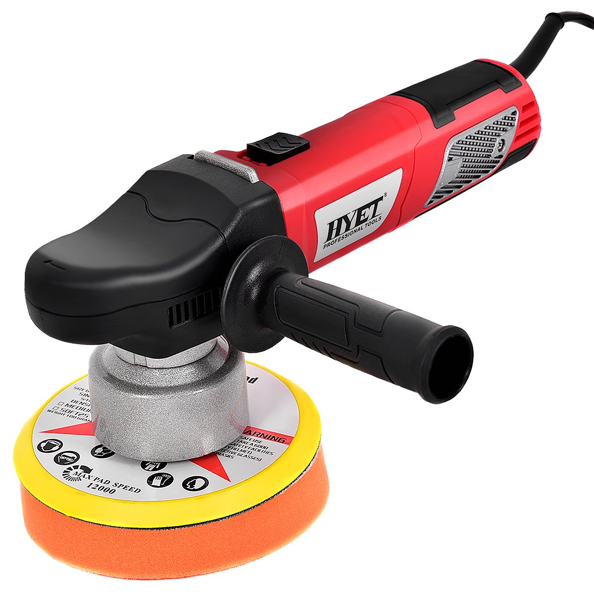 Goplus Random Orbital Polisher Electrical Sander Variable Speed Dual-Action Grinder  Buffer Kit For Auto Detail (6 inch) - - Amazon.com