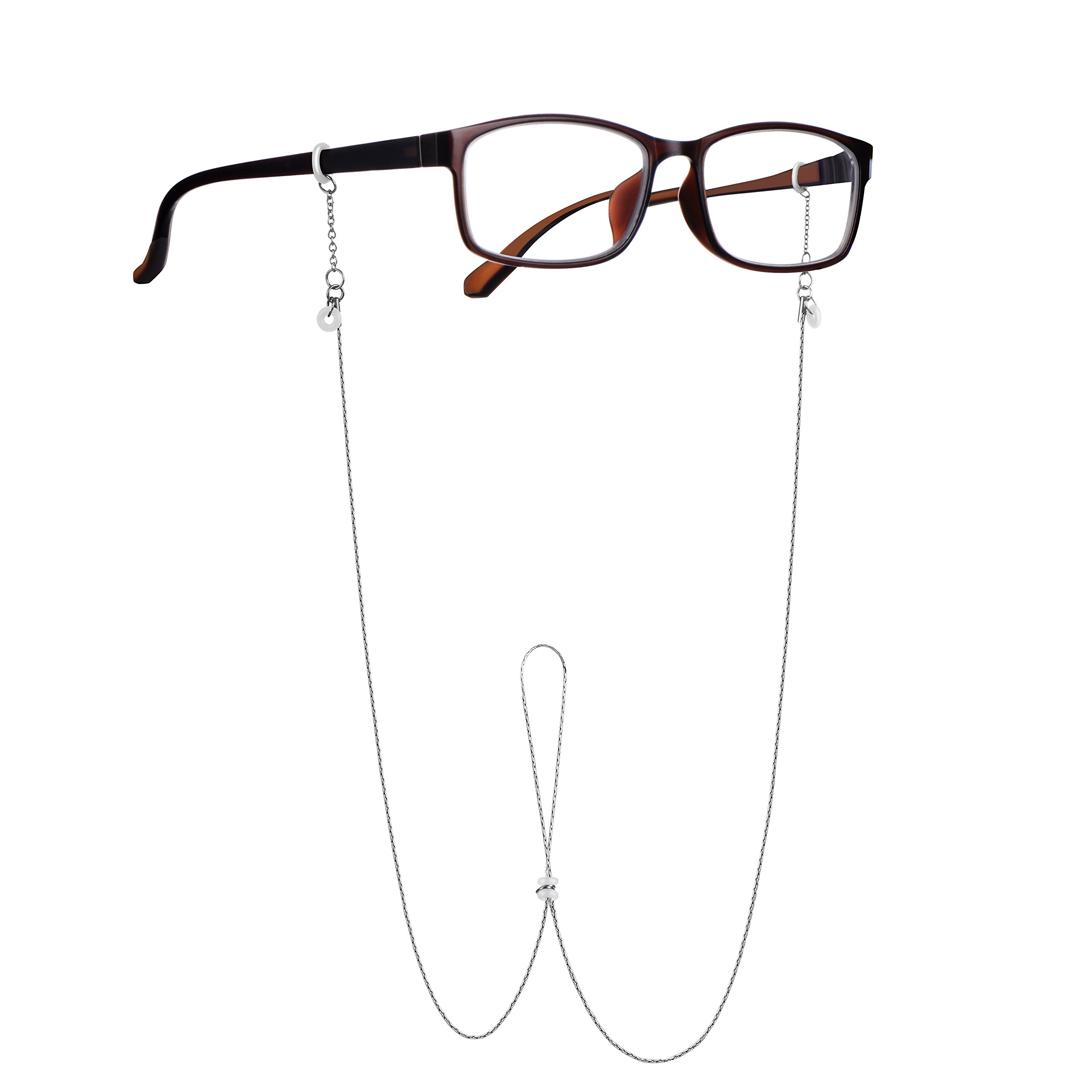 Unisex Eyeglass Chain, Reading Glass Chain, Simple &Considerate Design, Sunglass Strap