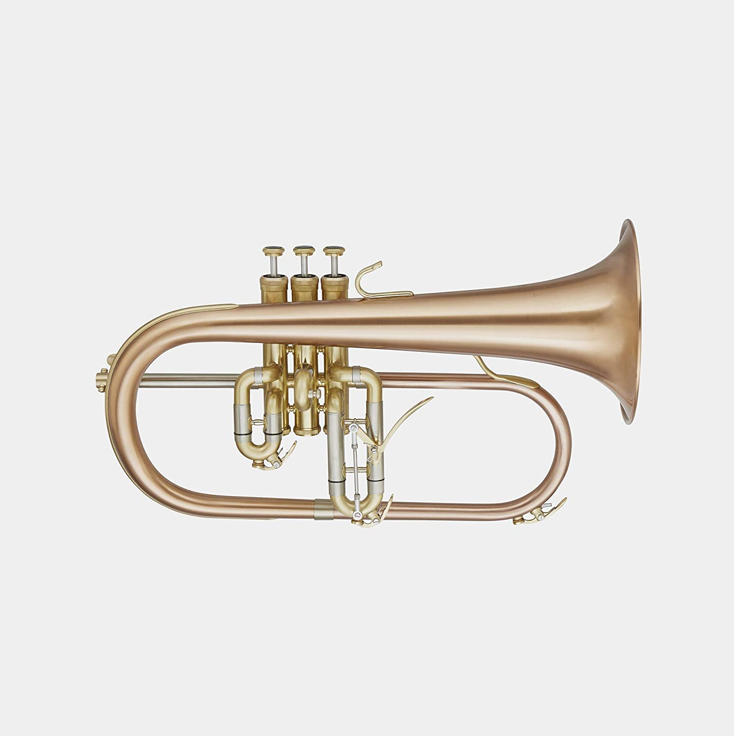 Blessing BFH-1541RT Professional Flugelhorn, Lacquered Brass with 1-Piece Red Copper Bell: Musical Instruments