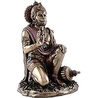 Purpledip Blessing BajrangBali Hanumanji Hanuman Hindu God Statue Idol Figurine for Home (10828)