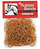 Weaver Leather Rubber Bands, Chestnut