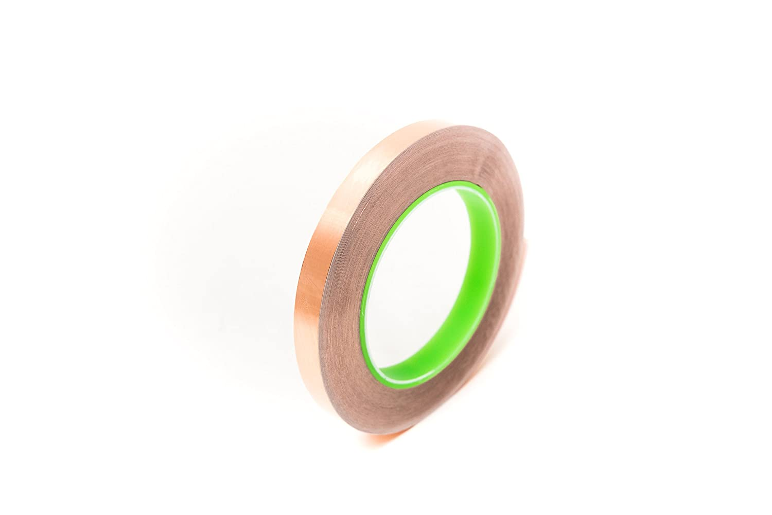 """1//4/"""" Wide x 36 Yards Long 2.75 mil Thick on a 3/"""" Core Copper Conductive Tape"""