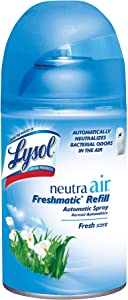 Lysol Neutra Air Freshmatic Automatic Spray Air Freshener, Fresh, 1 Refill, 5.89 Ounce
