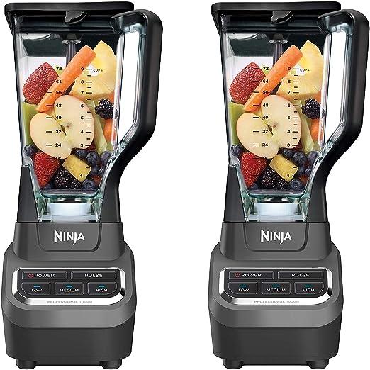 Ninja Professional 72oz Countertop Blender with 1000-Watt Base