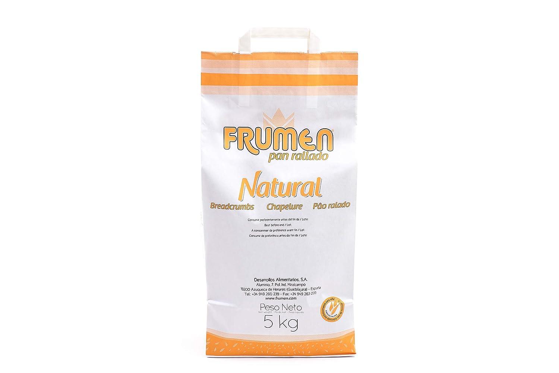 Frumen Pan Rallado Natural Bolsa 5 kg: Amazon.es: Alimentación y ...