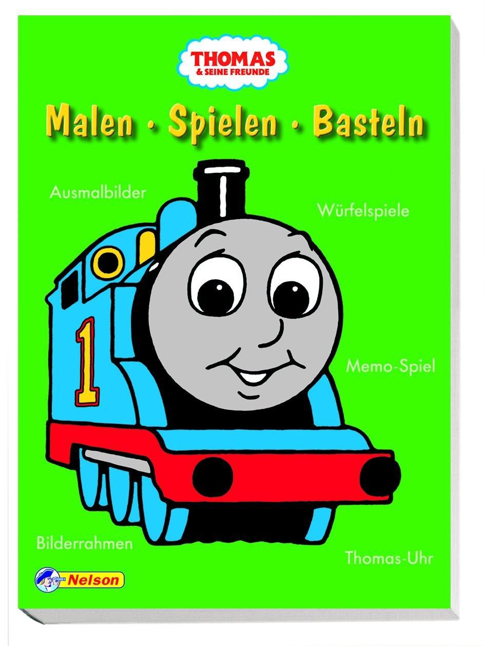 Thomas und seine Freunde - Malen, Spielen, Basteln: Ausmalbilder ...