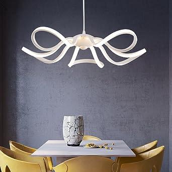 koonting led pendelleuchte esstisch hngelampe wohnzimmer kche led pendellampe moderne aluminium hngeleuchte hhenverstellbar - Hangeleuchte Wohnzimmer Led
