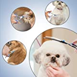 Gimars Round Tips Dog Grooming Scissors