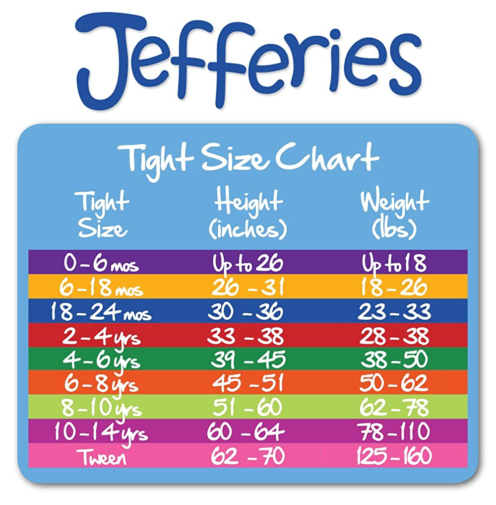 Jefferies Socks Baby-Girls Newborn Smooth Microfiber Tights 3 Pair Pack JEFRG 1445