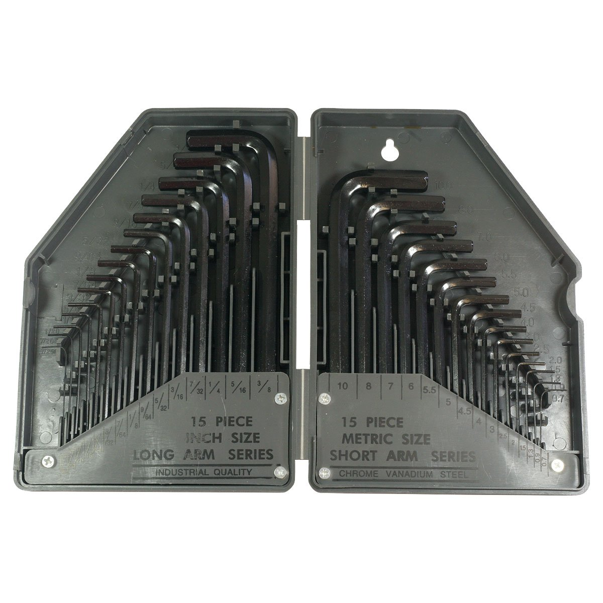 HTS 123B0 30 Pc Allen Wrench Set SAE//Metric