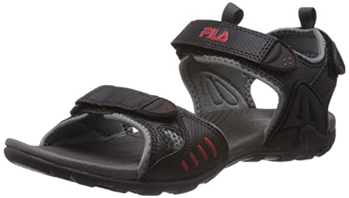 24bfb9d36cfc Fila Men Roadstar Black Sandals   Floaters 10 UK-10 UK India (44 EU ...