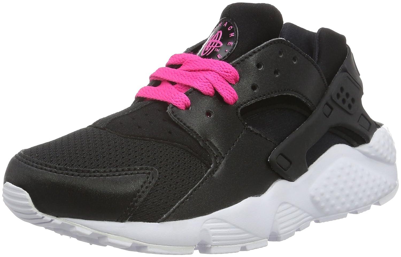 NIKE Men's Air Max Advantage Running Shoe B01HLCTNSE 6Y|Black/White-pink Blast
