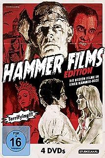 Gefrier Schocker Box Hammer House Of Horror 4 Dvds