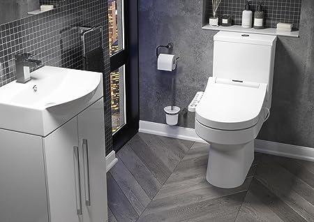 Cassellie Tsb003 Smart Heated Bidet Toilet Seat With Dual Nozzle Massage Control Amazon Co Uk Kitchen Home